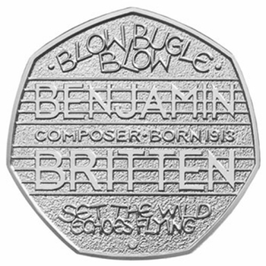 britten 50p - New Benjamin Britten 50p set to strike a chord with Change Checkers
