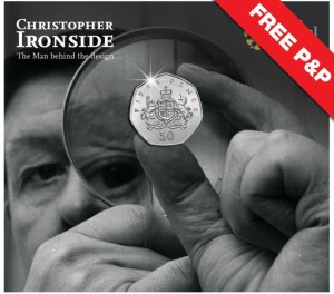 ironside - How Britannia struck the first Ironside 50p...live on the BBC