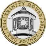 2014 Lighthouse £2 Trinity House