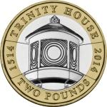 2014 Lighthouse £2 Trinity House