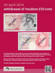 £50note poster
