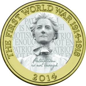 edith cavell 2 - A new Edith Cavell £2 Coin?