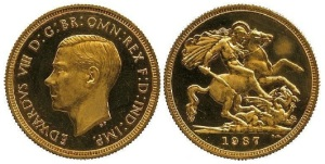 edward viii sovereign - £516,000 Gold Sovereign breaks auction record for a Royal Mint coin