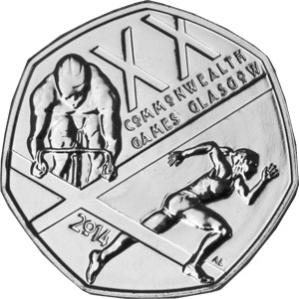 Commonwealth Games 50p