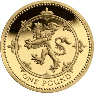 Lion Rampant £1