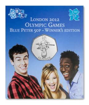 st london olympics blue peter 50p pack - Everything you need to know about the UK Olympic 50p Series