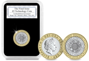 The Final Issue £2 Technology Coin