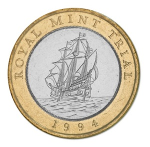 Royal Mint Trial £2 Coin