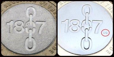 Slave Trade £2 Compare