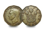 george vi threepence - Now on the production line in Wales - the 12-sided £1 coin