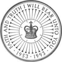 240P 1993 Coronation 40th £5