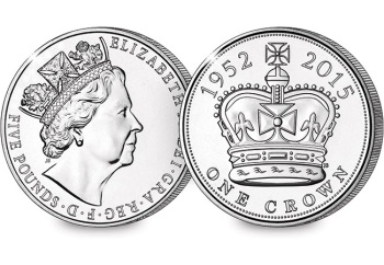 UK Longest Reigning Monarch £5 Coin