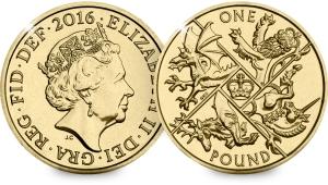 Last Round £1 Coin