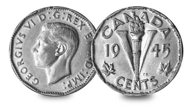 Canadian-five-cents 456M