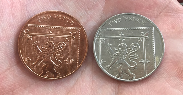 st silver 2p error coin facebook banner - Mis-strikes and myths
