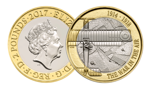 bu aviation1 - First look: New Royal Mint UK coin designs for 2017