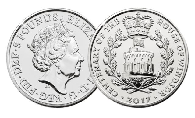 bu windsor1 - First look: New Royal Mint UK coin designs for 2017