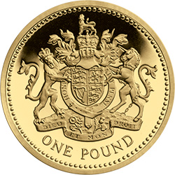 1983 c2a31 gilded crest - Britain's favourite £1 coin - Vote now