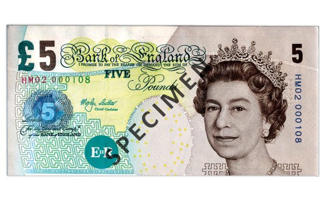 2001 elizabeth fry c2a35 - Just 100 days left to spend your old £5 note