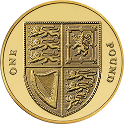 c2a31 royal arms shield - Britain's favourite £1 coin - Vote now