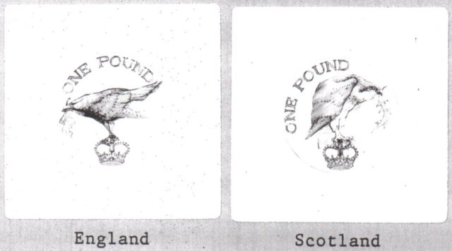 image 1b - The Pound Coin and the rejected bird designs