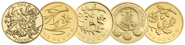 change checker 1 pound coins - Poll: Choose your all-time favourite £1 coin design