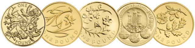 Poll: Choose your all-time favourite £1 coin design