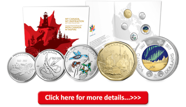 2017 my canada my inspiration set - Canada has just released the world's first glow-in-the-dark coin into circulation...