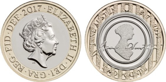 ja 2 - What the people of Bath think of the new Jane Austen £2 Coin