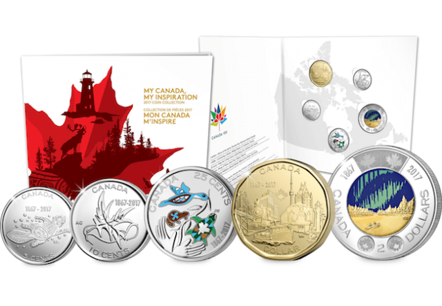 my canada my inspiration set - Canada has just released the world's first glow-in-the-dark coin into circulation...