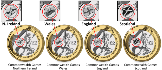 commonwealth 4 coins - How to identify the UK's most scarce £2 coin