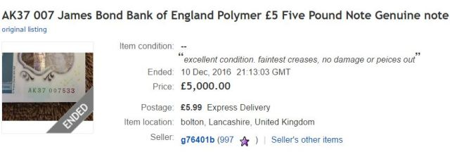 The Jane Austen Polymer £10 notes to look out for...
