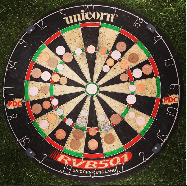 dart board - Coin Photo of the Year- Sport voting!